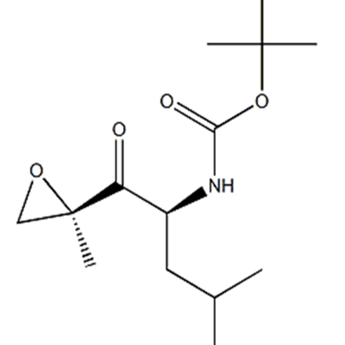 CarbaMicacid,N-[(1S)-3-Methyl-1-[[(2R)-2-Methyl-2-oxiranyl]carbonyl]butyl]-, 1,1-diMethylethyl ester CAS 247068-82-2
