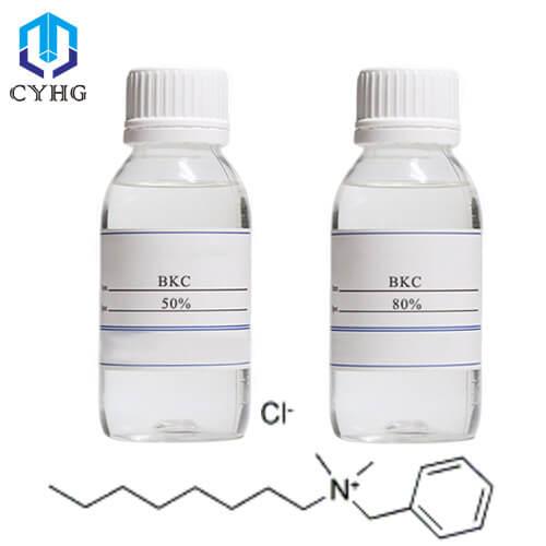 50% 80% BKC Benzalkonium Chloride Disinfectant